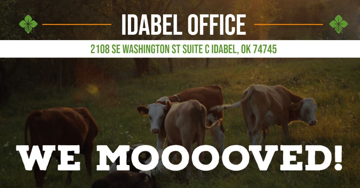 Idabel New Office Graphic