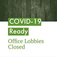 Office Lobbies Closed