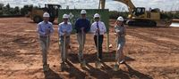 Exec Team at ground breaking
