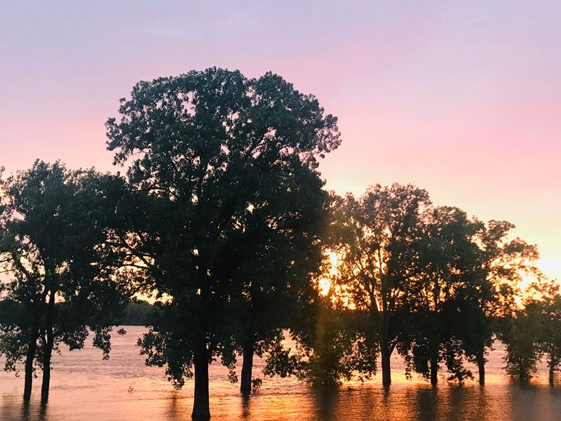 Oklahoma AgCredit donated $45,000 to flood relief efforts in 2019.